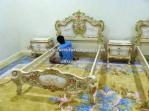 tempat tidur anak raja bangsawan
