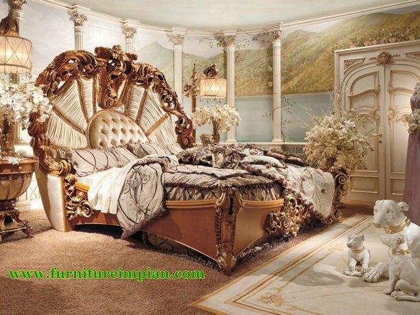 Kamar Tidur Mewah Ukir Unik