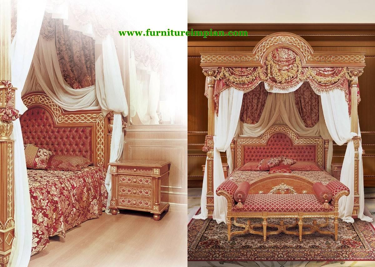 Kamar Tidur Raja Mewah Baru