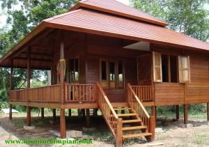 rumah kayu panggung terbaru furniture impian rumah