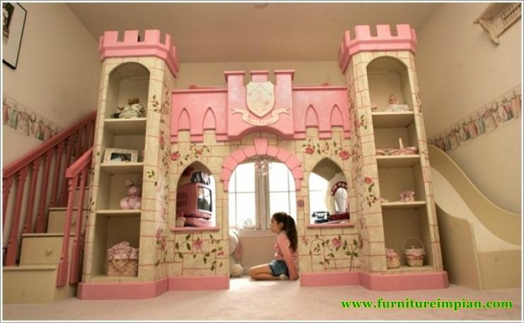 Tempat Tidur Anak Putri Murah