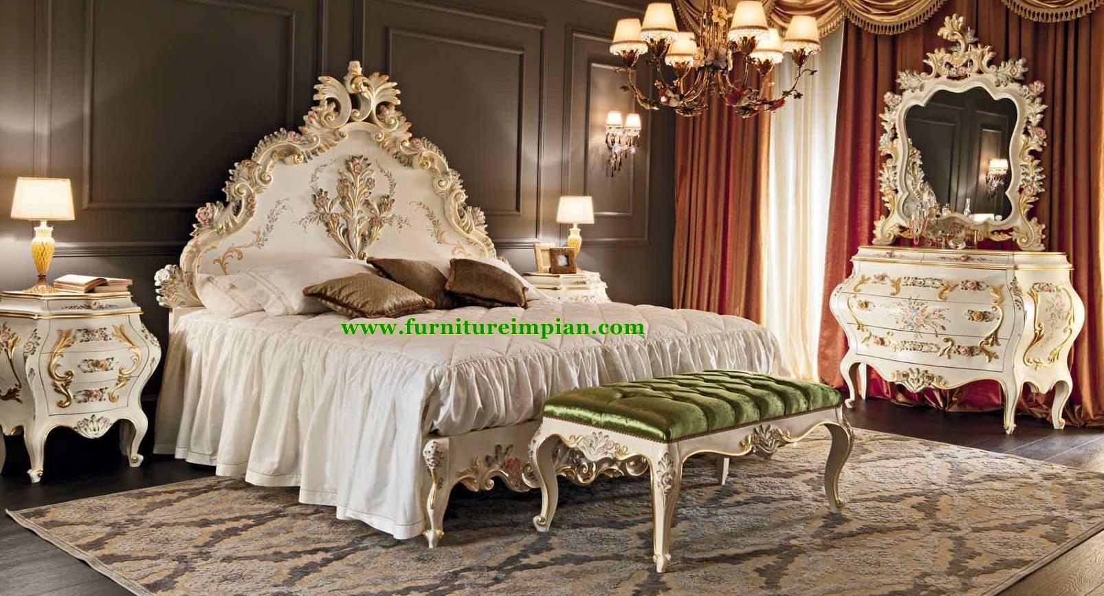 Tempat Tidur Ukir Terbaru