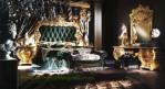 Kamar Tidur Terbaru Artistik Mewah Gold