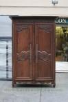 Lemari Pakaian Classic 2 Pintu Vintage Murah