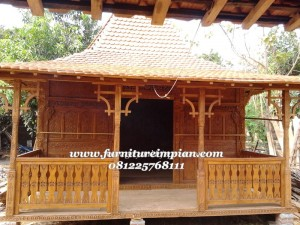 Desain Mushola Kayu Jati