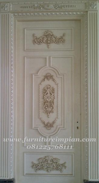 gambar desain pintu kamar mewah