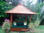 gazebo jepara untuk taman rumah impian