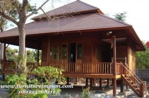 Harga rumah kayu jepara