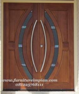 jual pintu kupu tarung model pintu rumah minimalis modern
