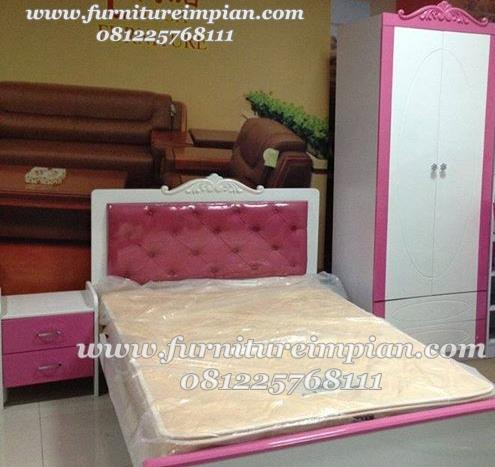 jual set tempat tidur anak perempuan