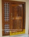 pintu ukiran jepara dari kayu jati