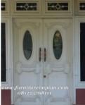 Pintu Utama Mewah Cat Duco