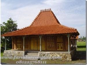 Rumah Kayu Jati Model Joglo Kudus