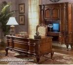 Set meja kerja klasik model eropa