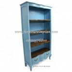 lemari buku classic bookcase classic