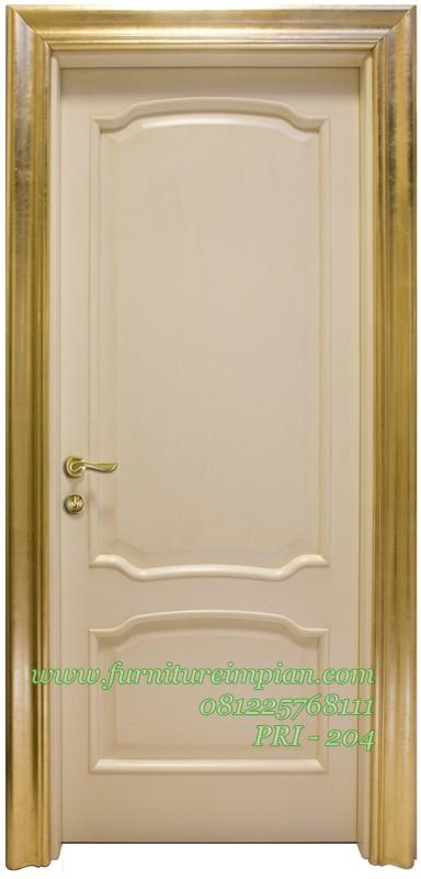 Model pintu rumah warna putih terbaru termewah