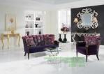 sofa lavender blue cinderella