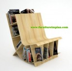 Kursi Rak Buku Model Minimalis