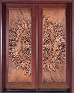 Pintu Rumah Impian Model Matahari Penuh