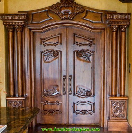 Pintu Rumah Mewah Impian