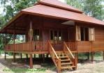 Rumah Kayu Panggung Terbaru