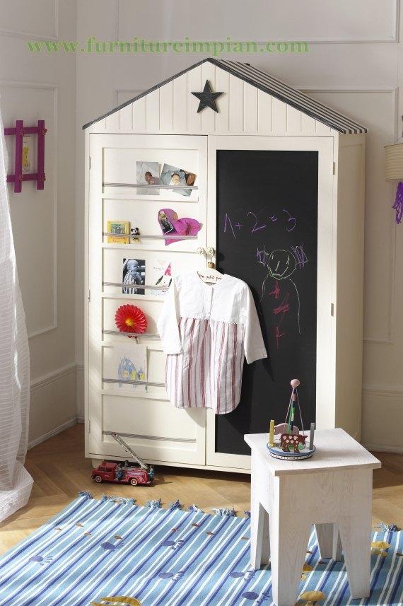 Lemari Pakaian Anak Model Minimalis Terbaru