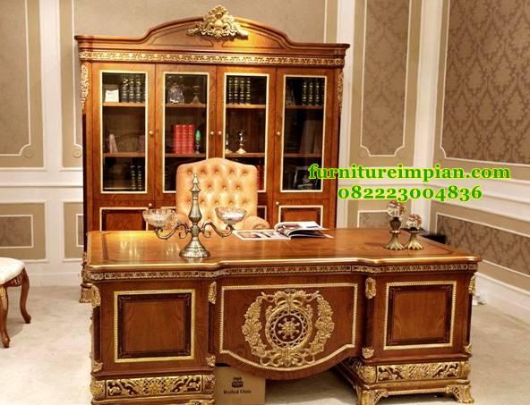 Set meja kantor mentri kabinet indonesia bersatu