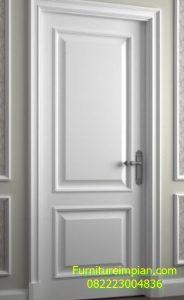 Pintu kamar hotel duco putih clasic
